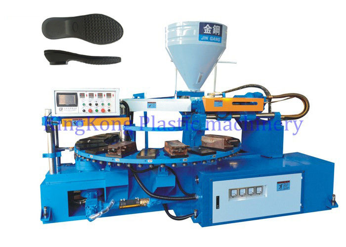 Mono Color Outsole Shoe Making Machine With 20 PCS Mold Station For Sneaker / Footwear