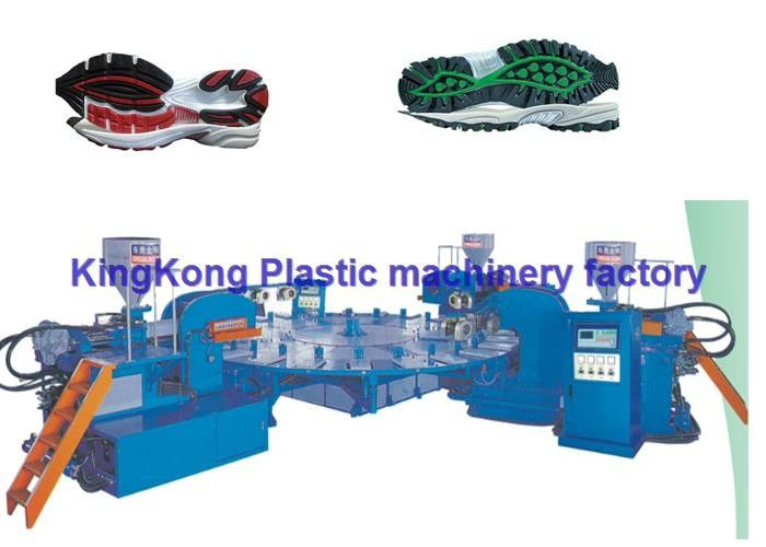 Automatic Sport Sole Shoe Injection Molding Machine High Performance